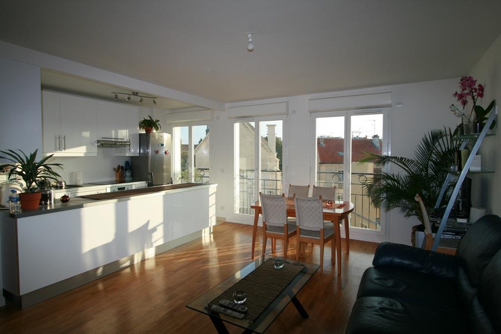 Appartement k b maisons alfort - Parquet salon cuisine ...